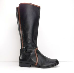 Anne Klein Leather Riding Boots